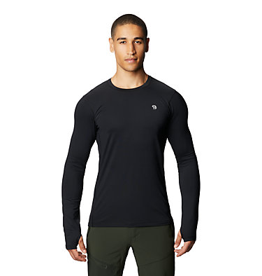 Men's Ghee™ Long Sleeve Crew Ghee™ Long Sleeve Crew | 016 | L, Black, front