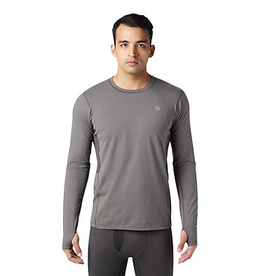 Men's Ghee™ Long Sleeve Crew Ghee™ Long Sleeve Crew | 016 | L, Heather Shark, front