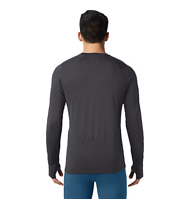 Men's Ghee™ Long Sleeve Crew Ghee™ Long Sleeve Crew | 016 | L, Heather Shark, back