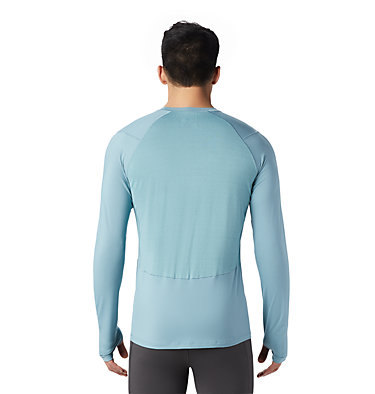 Men's Ghee™ Long Sleeve Crew Ghee™ Long Sleeve Crew | 016 | L, Peak Blue, back