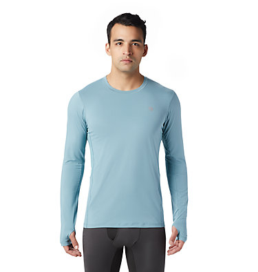 Men's Ghee™ Long Sleeve Crew Ghee™ Long Sleeve Crew | 016 | L, Peak Blue, front