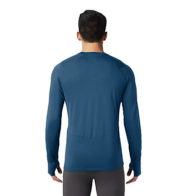 Men's Ghee™ Long Sleeve Crew Ghee™ Long Sleeve Crew | 016 | L, Blue Horizon, back