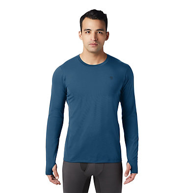 Men's Ghee™ Long Sleeve Crew Ghee™ Long Sleeve Crew | 016 | L, Blue Horizon, front