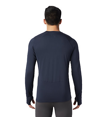 Men's Ghee™ Long Sleeve Crew Ghee™ Long Sleeve Crew | 016 | L, Dark Zinc, back