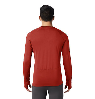 Men's Ghee™ Long Sleeve Crew Ghee™ Long Sleeve Crew | 016 | L, Desert Red, back