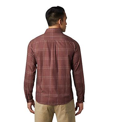 Men's Burney Falls™ Long Sleeve Shirt Burney Falls™ Long Sleeve Shir   012   L, Dark Umber, back
