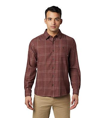 Men's Burney Falls™ Long Sleeve Shirt Burney Falls™ Long Sleeve Shir   012   L, Dark Umber, front