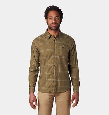 Men's Burney Falls™ Long Sleeve Shirt Burney Falls™ Long Sleeve Shir   012   L, Combat Green, front