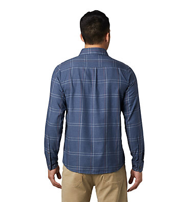 Men's Burney Falls™ Long Sleeve Shirt Burney Falls™ Long Sleeve Shir | 012 | M, Zinc, back