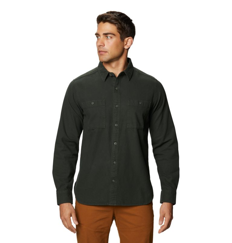 Catalyst Edge™ Long Sleeve Shirt | 306 | L Men's Catalyst Edge™ Long Sleeve Shirt, Black Sage, front