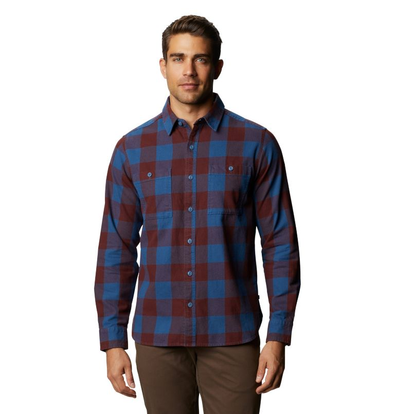 Catalyst Edge™ Long Sleeve Shirt | 402 | M Men's Catalyst Edge™ Long Sleeve Shirt, Blue Horizon, front