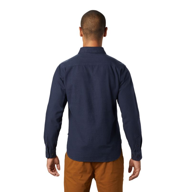 Catalyst Edge™ Long Sleeve Shi | 406 | L Men's Catalyst Edge™ Long Sleeve Shirt, Dark Zinc, back