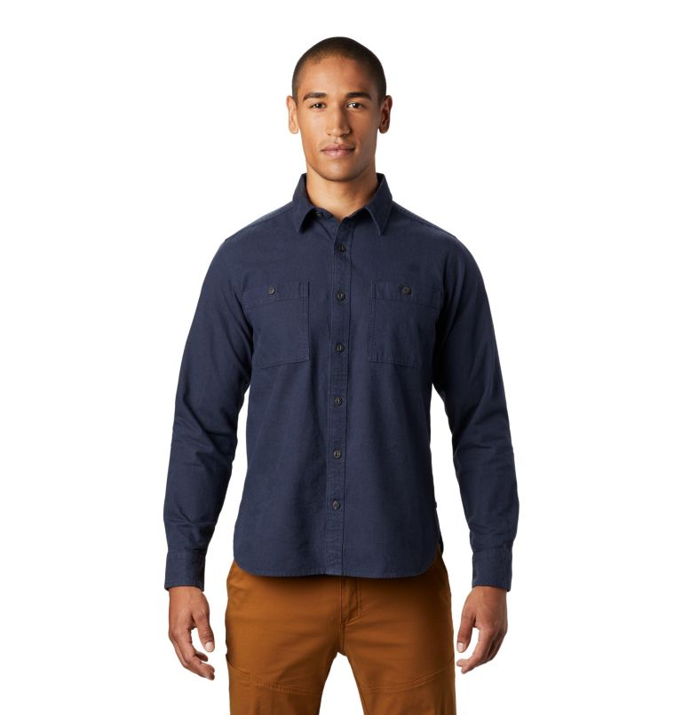 Catalyst Edge™ Long Sleeve Shi | 406 | L Men's Catalyst Edge™ Long Sleeve Shirt, Dark Zinc, front