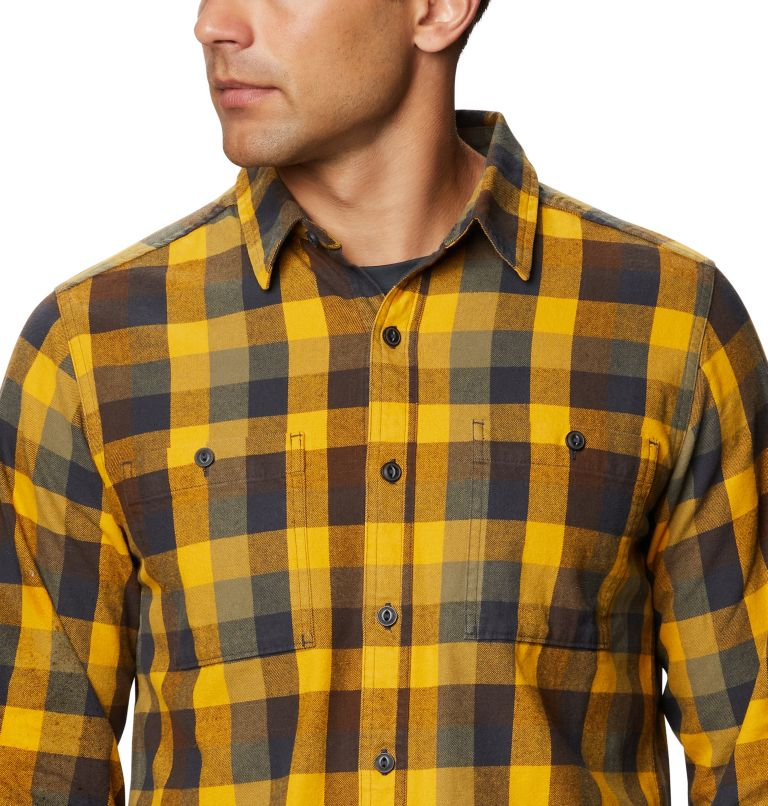 Catalyst Edge™ Long Sleeve Shirt | 750 | M Men's Catalyst Edge™ Long Sleeve Shirt, Gold Hour, a2