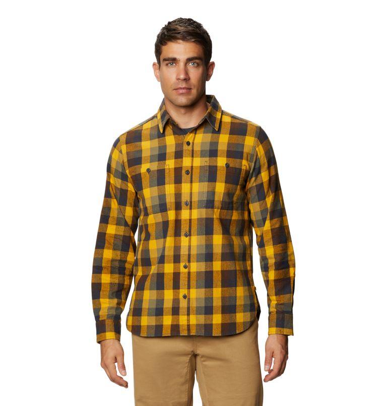 Catalyst Edge™ Long Sleeve Shirt | 750 | M Men's Catalyst Edge™ Long Sleeve Shirt, Gold Hour, front