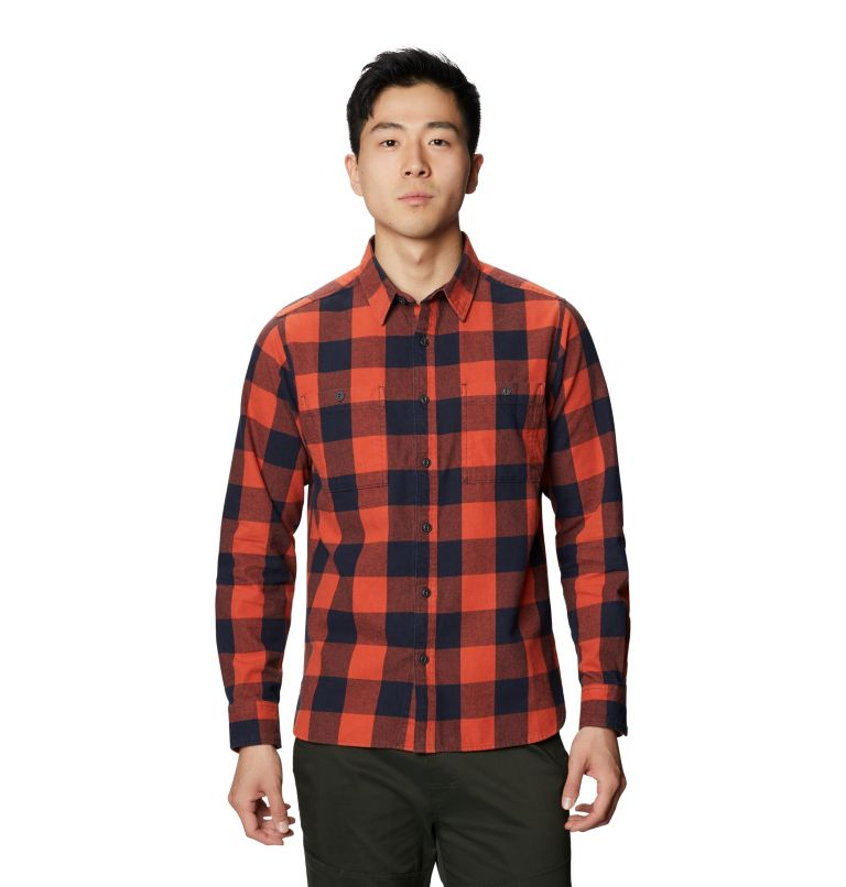 Catalyst Edge™ Long Sleeve Shirt | 840 | XXL Men's Catalyst Edge™ Long Sleeve Shirt, Dark Clay, front