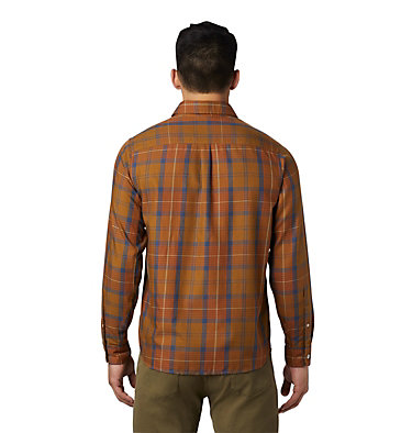 Men's Rogers Pass™ Long Sleeve Shirt Rogers Pass™ Long Sleeve Shirt | 406 | L, Golden Brown, back