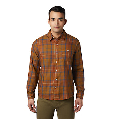Men's Rogers Pass™ Long Sleeve Shirt Rogers Pass™ Long Sleeve Shirt | 406 | L, Golden Brown, front