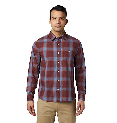 Men's Rogers Pass™ Long Sleeve Shirt Rogers Pass™ Long Sleeve Shirt | 406 | L, Dark Umber, front