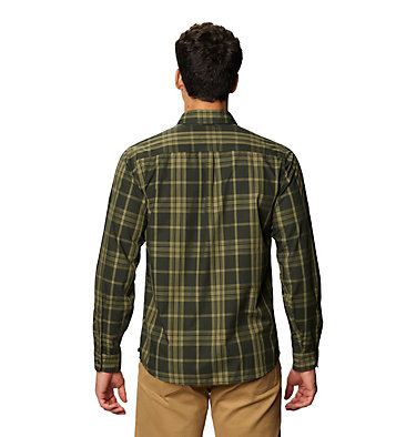 Men's Rogers Pass™ Long Sleeve Shirt Rogers Pass™ Long Sleeve Shirt | 406 | L, Black Sage, back