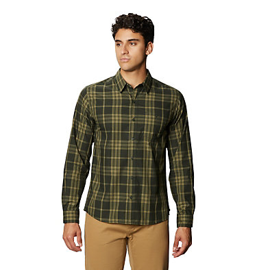 Men's Rogers Pass™ Long Sleeve Shirt Rogers Pass™ Long Sleeve Shirt | 406 | L, Black Sage, front