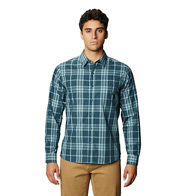 Men's Rogers Pass™ Long Sleeve Shirt Rogers Pass™ Long Sleeve Shirt | 406 | L, Icelandic, front