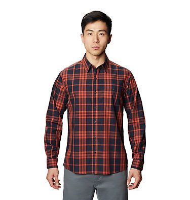 Men's Rogers Pass™ Long Sleeve Shirt Rogers Pass™ Long Sleeve Shirt | 406 | L, Dark Zinc, front