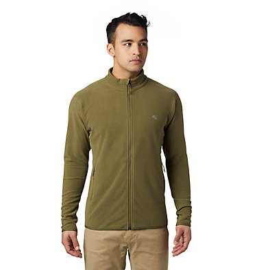 Men's Macrochill™ Full Zip Jacket Macrochill™ Full Zip | 452 | L, Combat Green, front