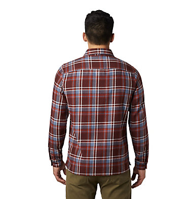 Men's Woolchester™ Long Sleeve Shirt Woolchester™ Long Sleeve Shirt | 492 | L, Dark Umber, back