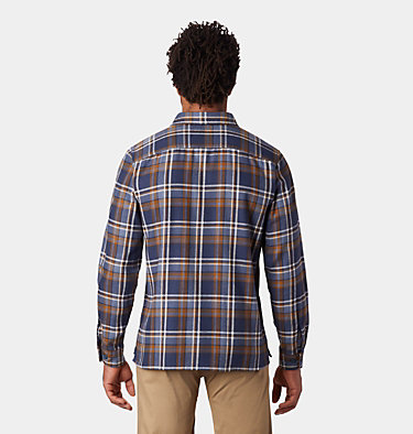 Men's Woolchester™ Long Sleeve Shirt Woolchester™ Long Sleeve Shirt | 492 | L, Zinc, back