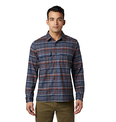 Chemise à manches longues Voyager One™ Homme Voyager One™ Long Sleeve Shirt | 053 | M, Graphite, front
