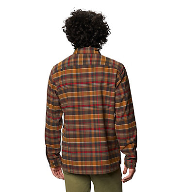Men's Voyager One™ Long Sleeve Shirt Voyager One™ Long Sleeve Shirt | 441 | L, Golden Brown, back