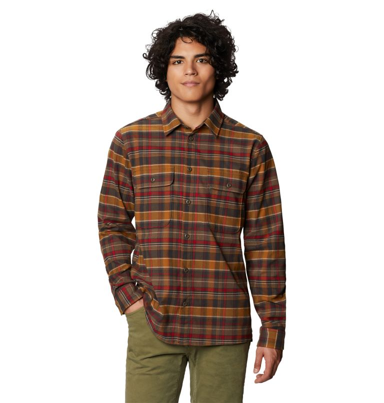Voyager One™ Long Sleeve Shirt | 233 | XL Men's Voyager One™ Long Sleeve Shirt, Golden Brown, front