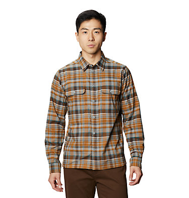 Men's Voyager One™ Long Sleeve Shirt Voyager One™ Long Sleeve Shirt | 441 | L, Wet Stone, front