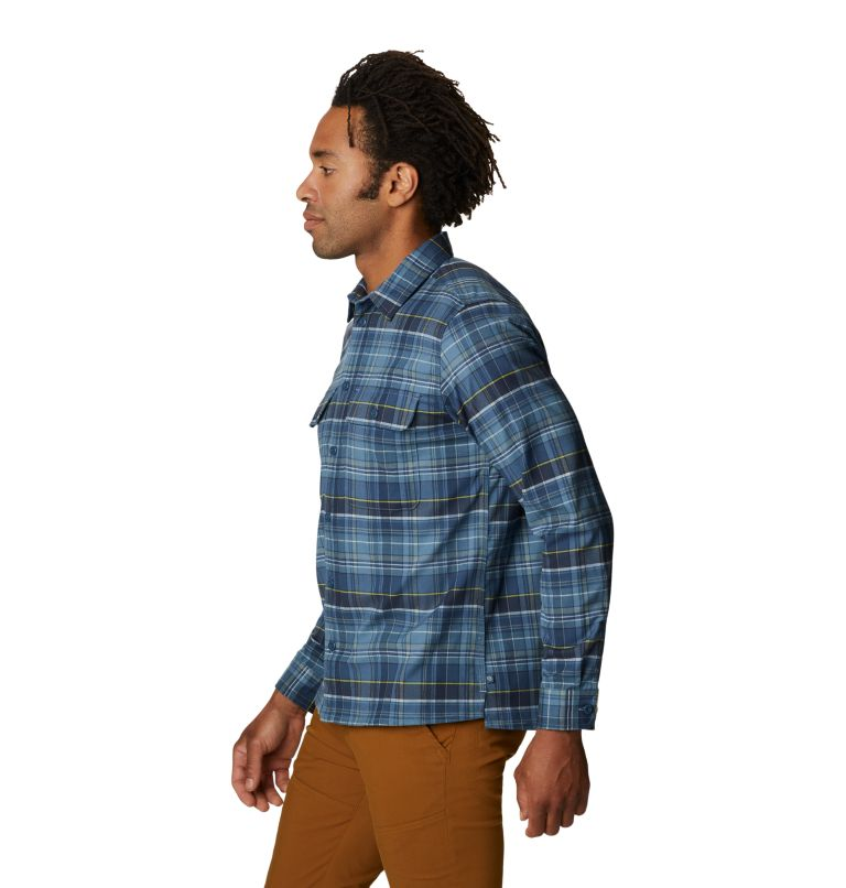 Voyager One™ Long Sleeve Shirt | 441 | S Men's Voyager One™ Long Sleeve Shirt, Light Zinc, a1