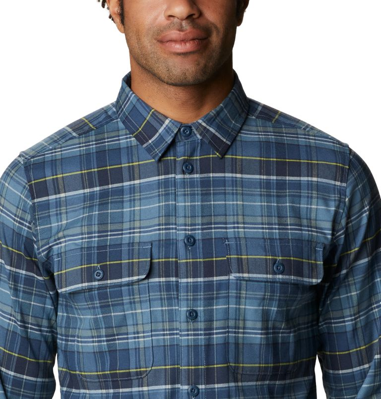 Voyager One™ Long Sleeve Shirt | 441 | S Men's Voyager One™ Long Sleeve Shirt, Light Zinc, a2