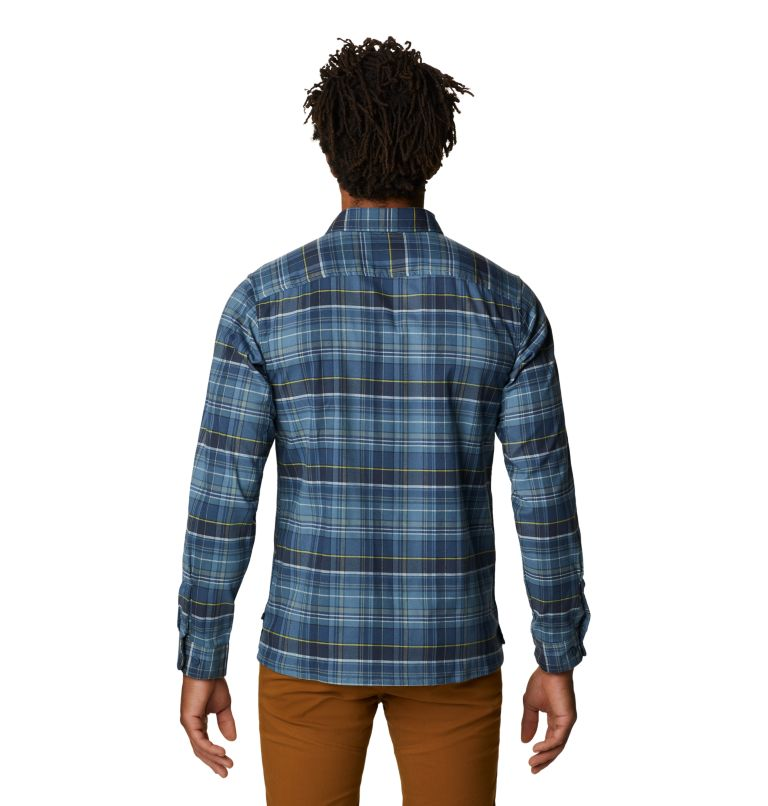 Voyager One™ Long Sleeve Shirt | 441 | S Men's Voyager One™ Long Sleeve Shirt, Light Zinc, back