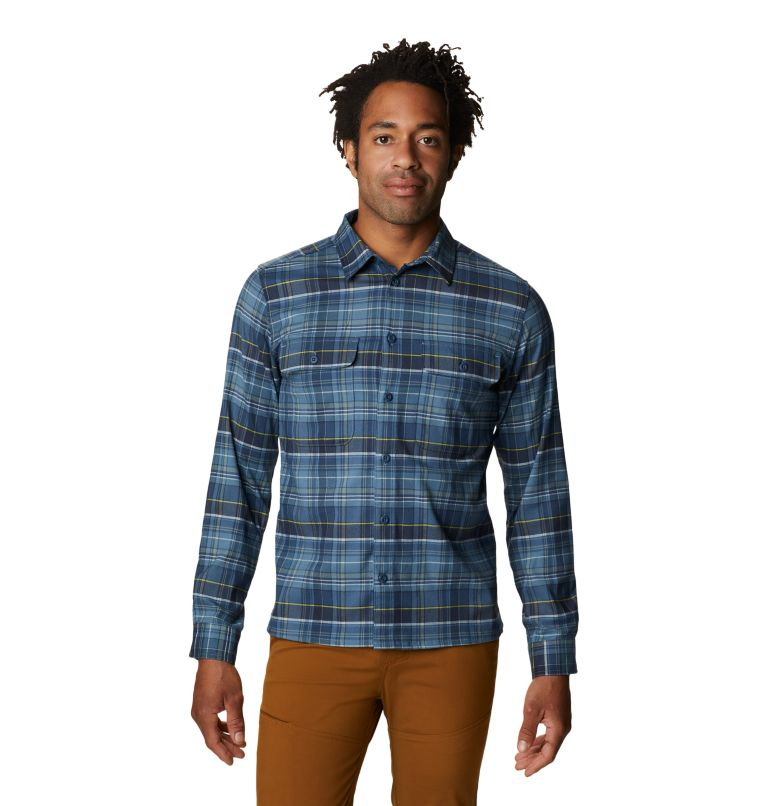 Voyager One™ Long Sleeve Shirt | 441 | M Men's Voyager One™ Long Sleeve Shirt, Light Zinc, front