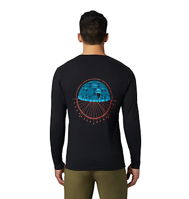 Men's Dome Degrees™ Long Sleeve T-Shirt Dome Degrees™ Long Sleeve T | 105 | L, Black, back