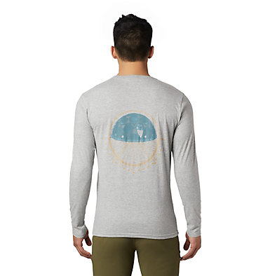 Men's Dome Degrees™ Long Sleeve T-Shirt Dome Degrees™ Long Sleeve T | 105 | L, Heather Grey, back