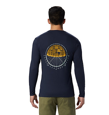 Men's Dome Degrees™ Long Sleeve T-Shirt Dome Degrees™ Long Sleeve T | 105 | L, Dark Zinc, back