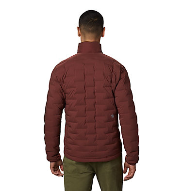 Men's Super/DS™ Stretchdown Jacket Super/DS™ Jacket | 339 | L, Dark Umber, back