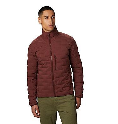 Men's Super/DS™ Stretchdown Jacket Super/DS™ Jacket | 339 | L, Dark Umber, front