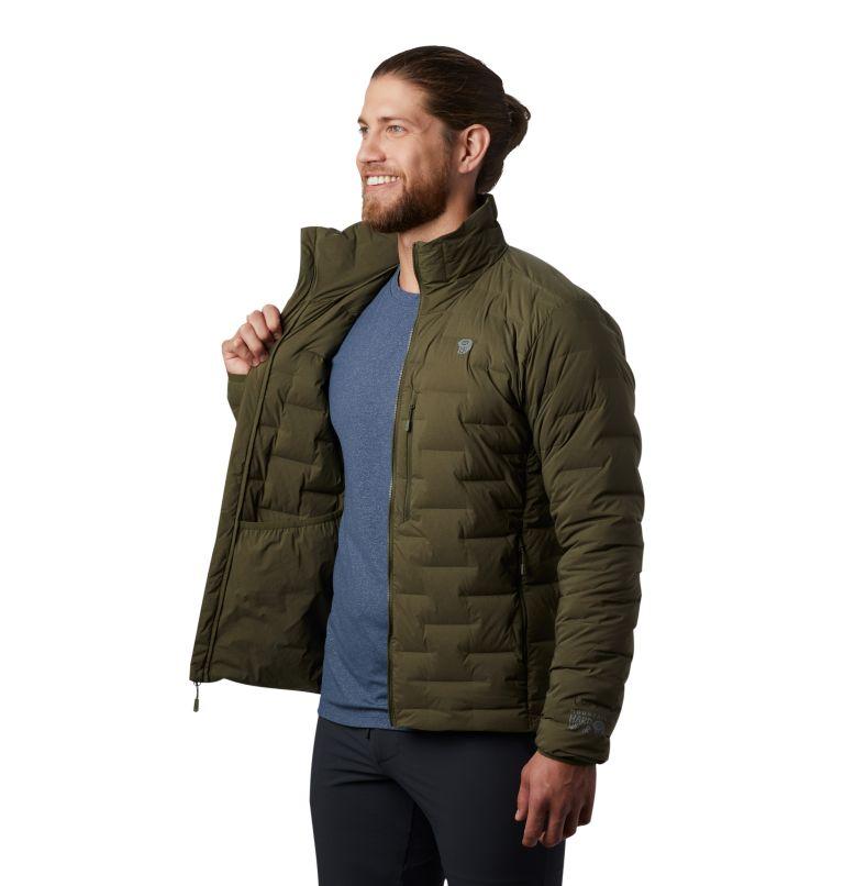 Super/DS™ Jacket | 304 | S Men's Super/DS™ Stretchdown Jacket, Dark Army, a2