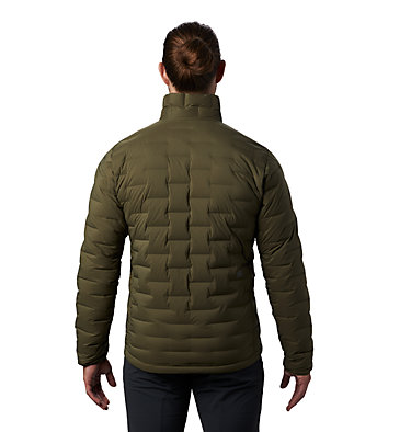 Men's Super/DS™ Stretchdown Jacket Super/DS™ Jacket | 339 | L, Dark Army, back