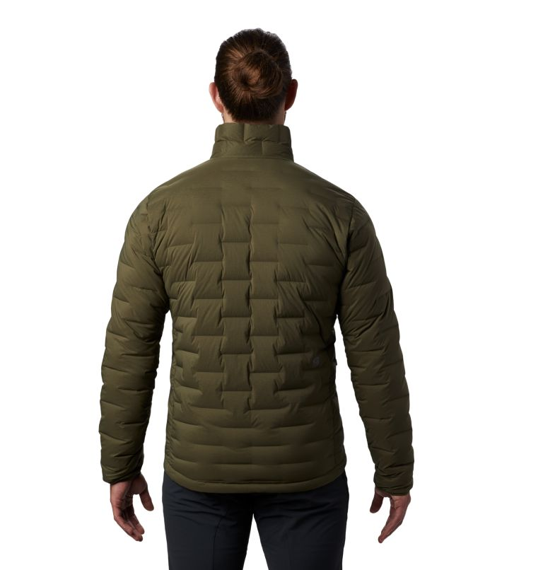 Super/DS™ Jacket | 304 | S Men's Super/DS™ Stretchdown Jacket, Dark Army, back