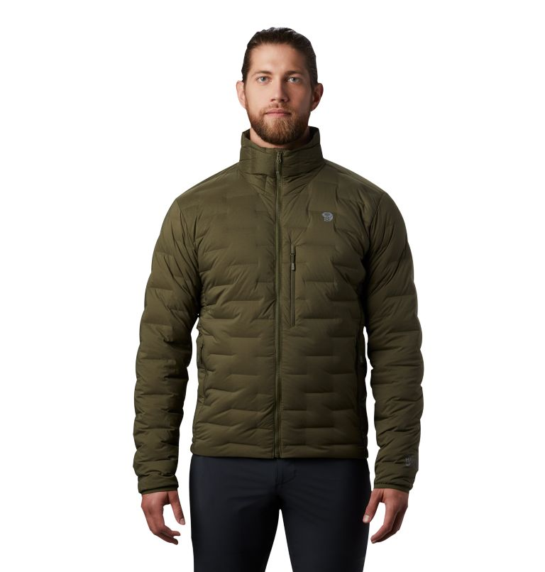 Super/DS™ Jacket | 304 | L Men's Super/DS™ Stretchdown Jacket, Dark Army, front