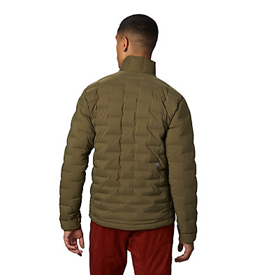 Men's Super/DS™ Stretchdown Jacket Super/DS™ Jacket | 339 | L, Combat Green, back