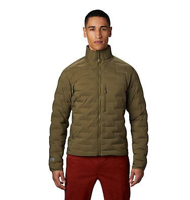 Men's Super/DS™ Stretchdown Jacket Super/DS™ Jacket | 339 | L, Combat Green, front