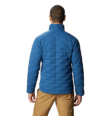 Men's Super/DS™ Stretchdown Jacket Super/DS™ Jacket | 339 | L, Blue Horizon, back